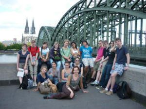 The scholarship group in Cologne