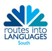 Logo for routes into languages